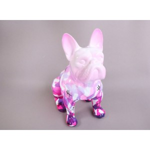 Escultura del artista Arte by Leyton - Pink &Lines