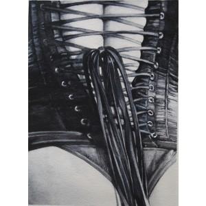 Painting from Penélope Andrés - ¿Me ayudas con el lazo?