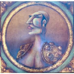 Pintura del artista Pedro Molina - El zingaro