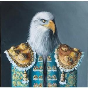 Painting - Aguila azul