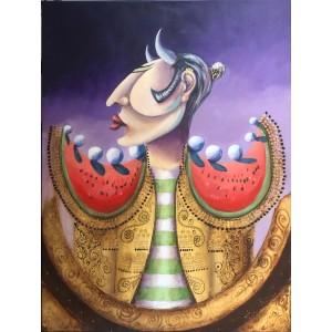 Painting - Minotauro