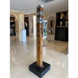 Sculpture - Totem Tupit