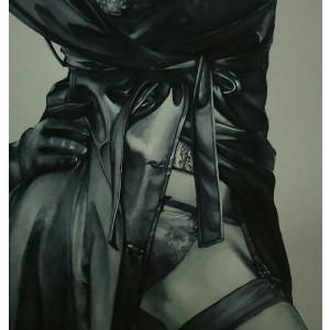 Pintura del artista Penélope Andrés - Así soy yo