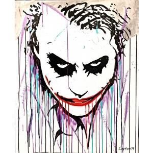 Painting - Joker by Leyton