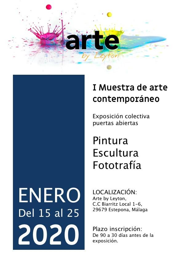 I Muestra de arte contemporáneo