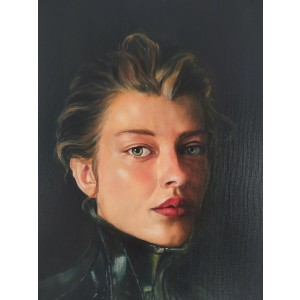 Painting from Penélope Andrés - Juana de Arco
