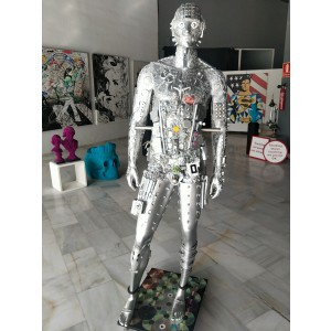 Sculpture from Arte by Leyton - Silver Man