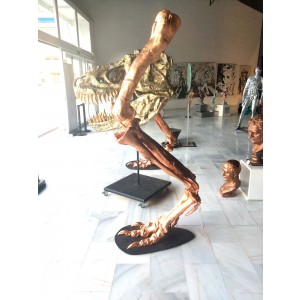 Sculpture - Piernas de dinosaurio