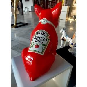 Sculpture - The WINSTON Heinz tomatodog