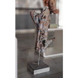 Sculpture - El grito - The Scream
